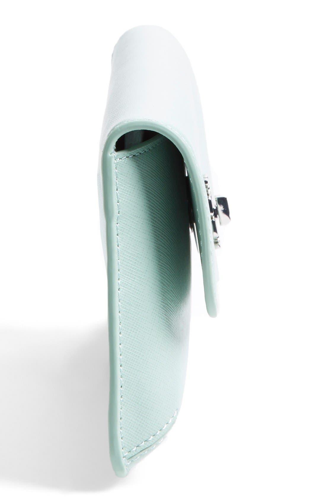 Alternate Image 3  - Tory Burch 'Slim Diana' Saffiano Leather Flap Clutch