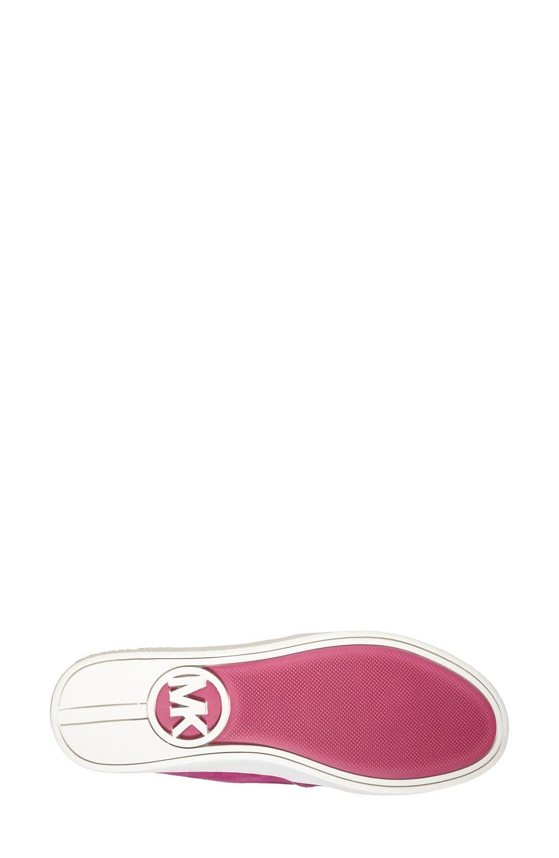 Alternate Image 4  - MICHAEL Michael Kors 'Brett' Perforated Slip-On Mule Sneaker (Women)