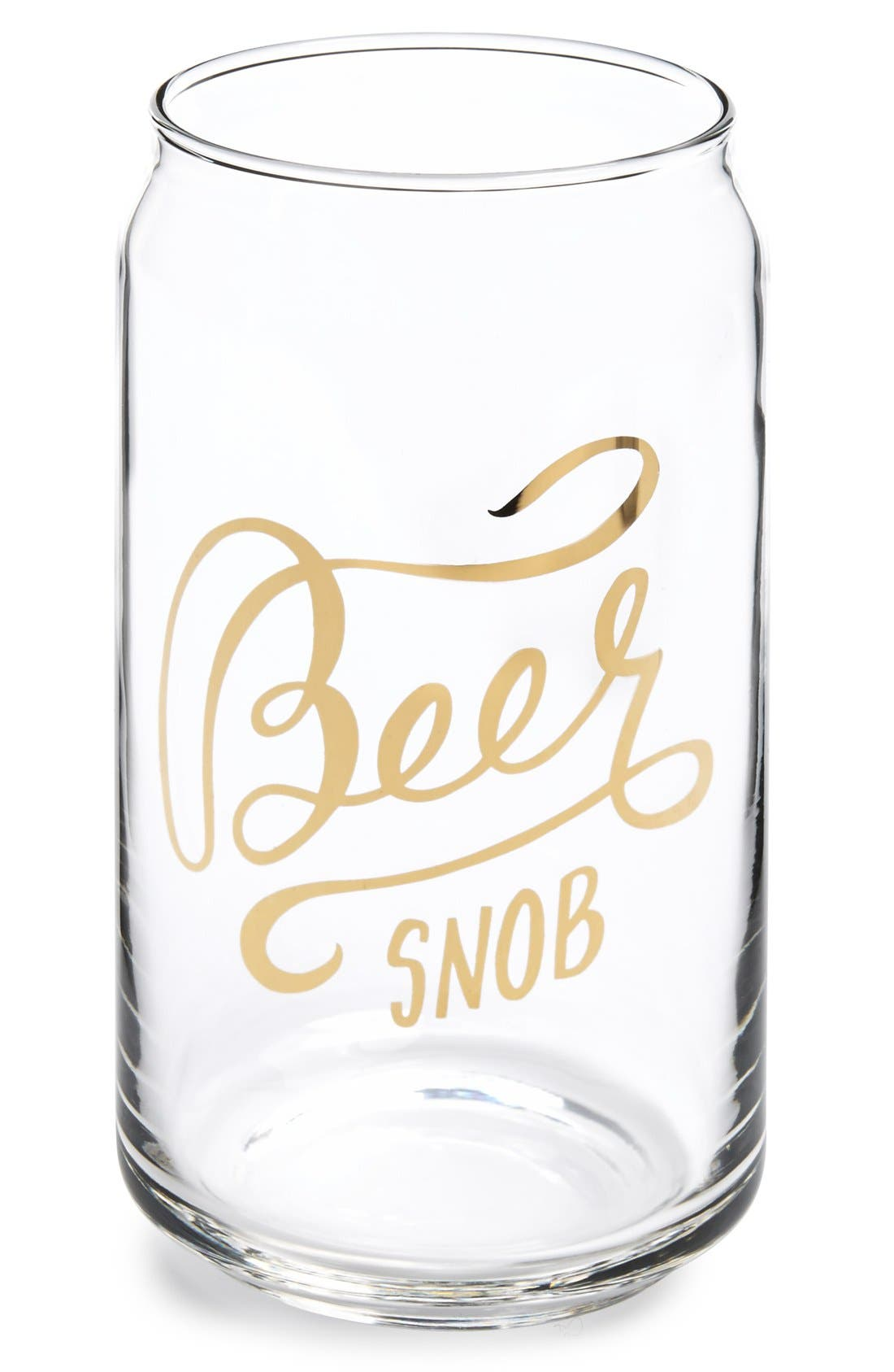 Alternate Image 1 Selected - Easy, Tiger 'Beer Snob' Can Glass