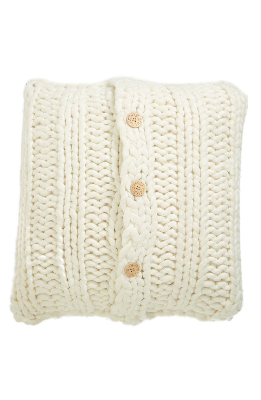 Alternate Image 1 Selected - UGG® Oversize Knit Pillow