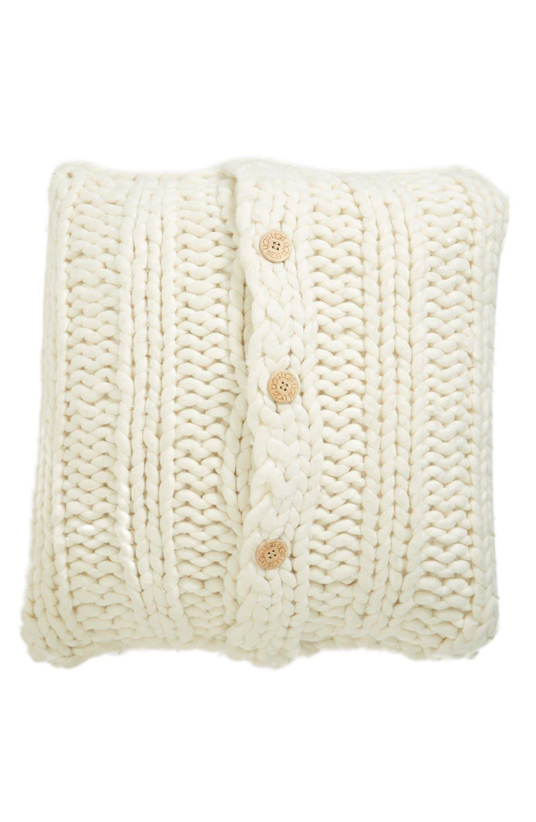 Main Image - UGG® Oversize Knit Pillow