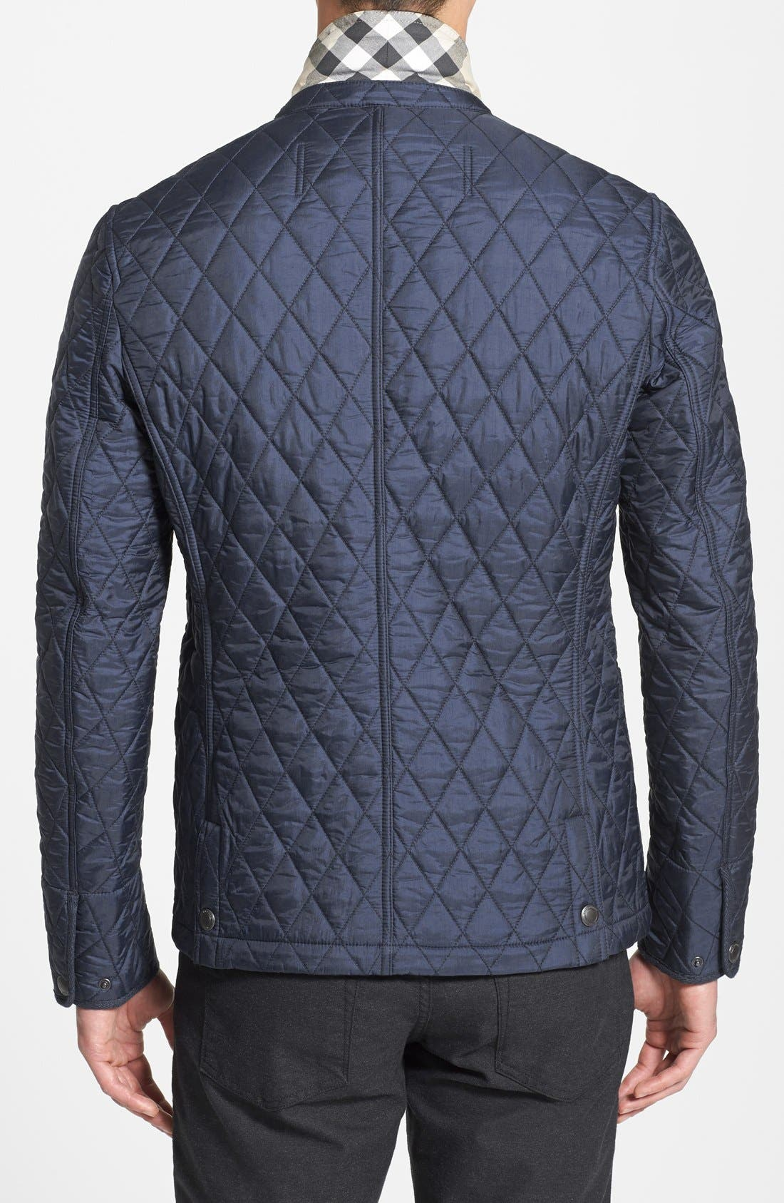 Alternate Image 2  - Burberry Brit 'Howe' Quilted Jacket