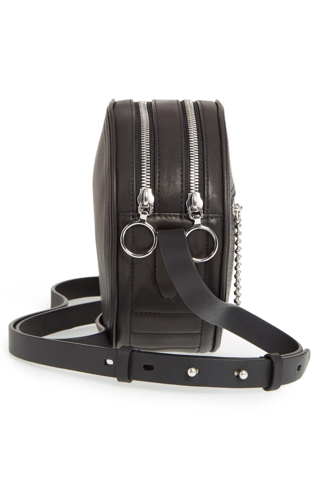 Alternate Image 5  - rag & bone 'Circle' Leather Crossbody Bag