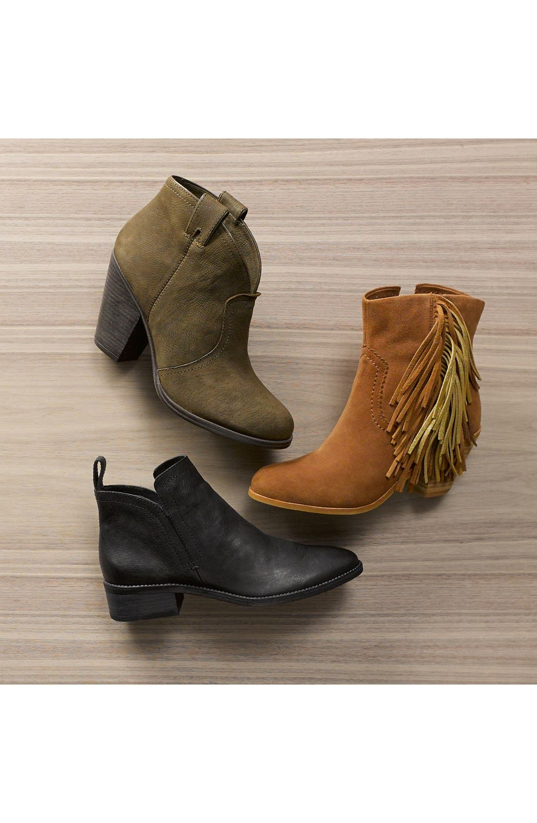 Alternate Image 2  - Vince Camuto 'Hillsy' Almond Toe Ankle Bootie (Women)