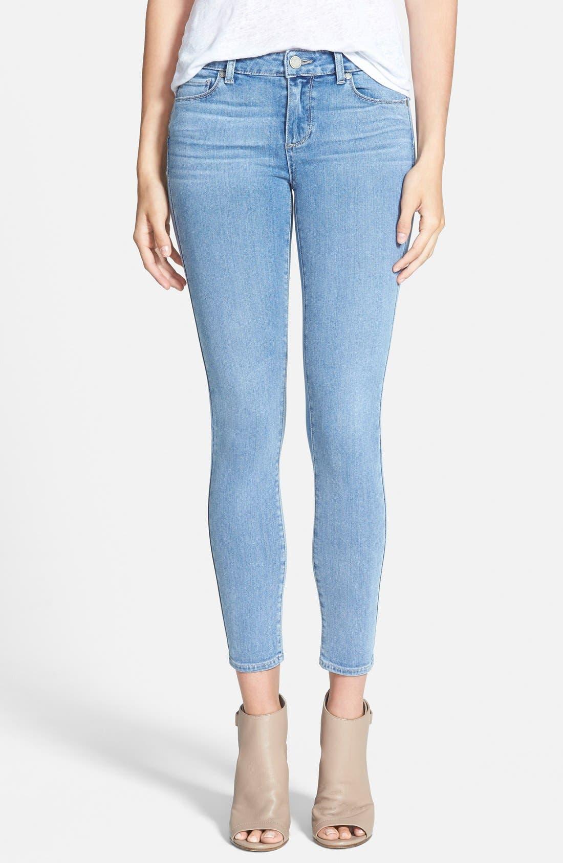 Alternate Image 1 Selected - Paige Denim 'Transcend - Verdugo' Ankle Ultra Skinny Jeans (Joelle)