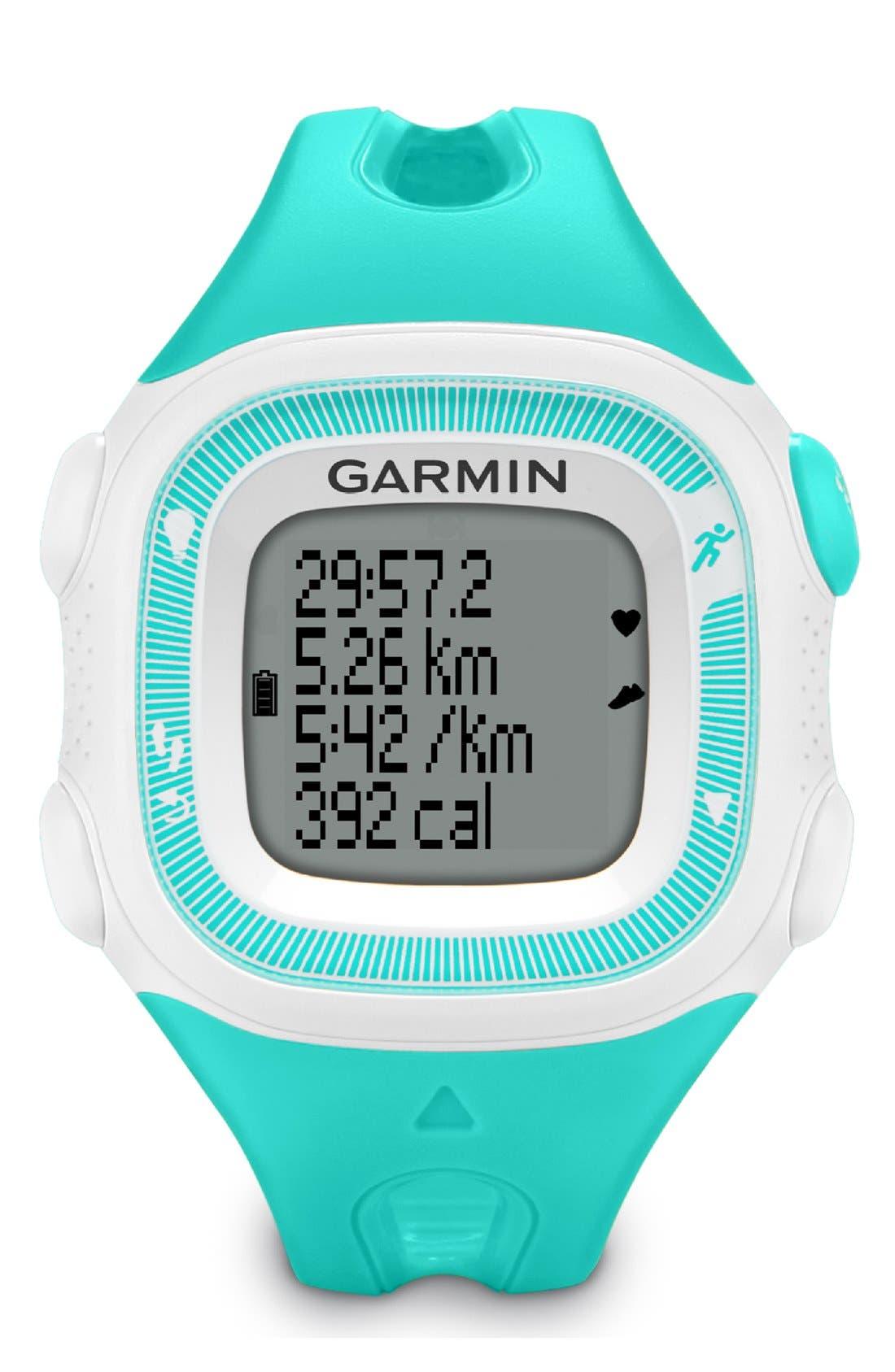 Alternate Image 8  - Garmin 'Forerunner 15' Fitness Watch, 46mm