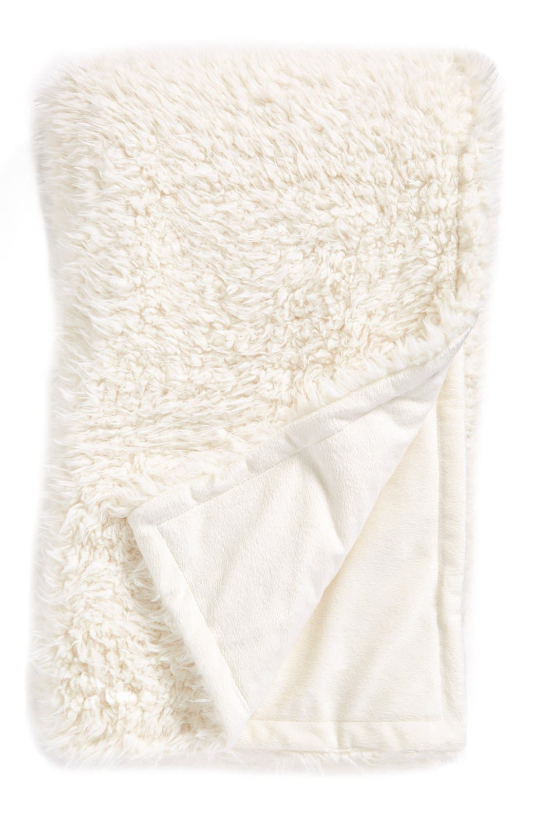 NORDSTROM AT HOME Faux Fur Throw