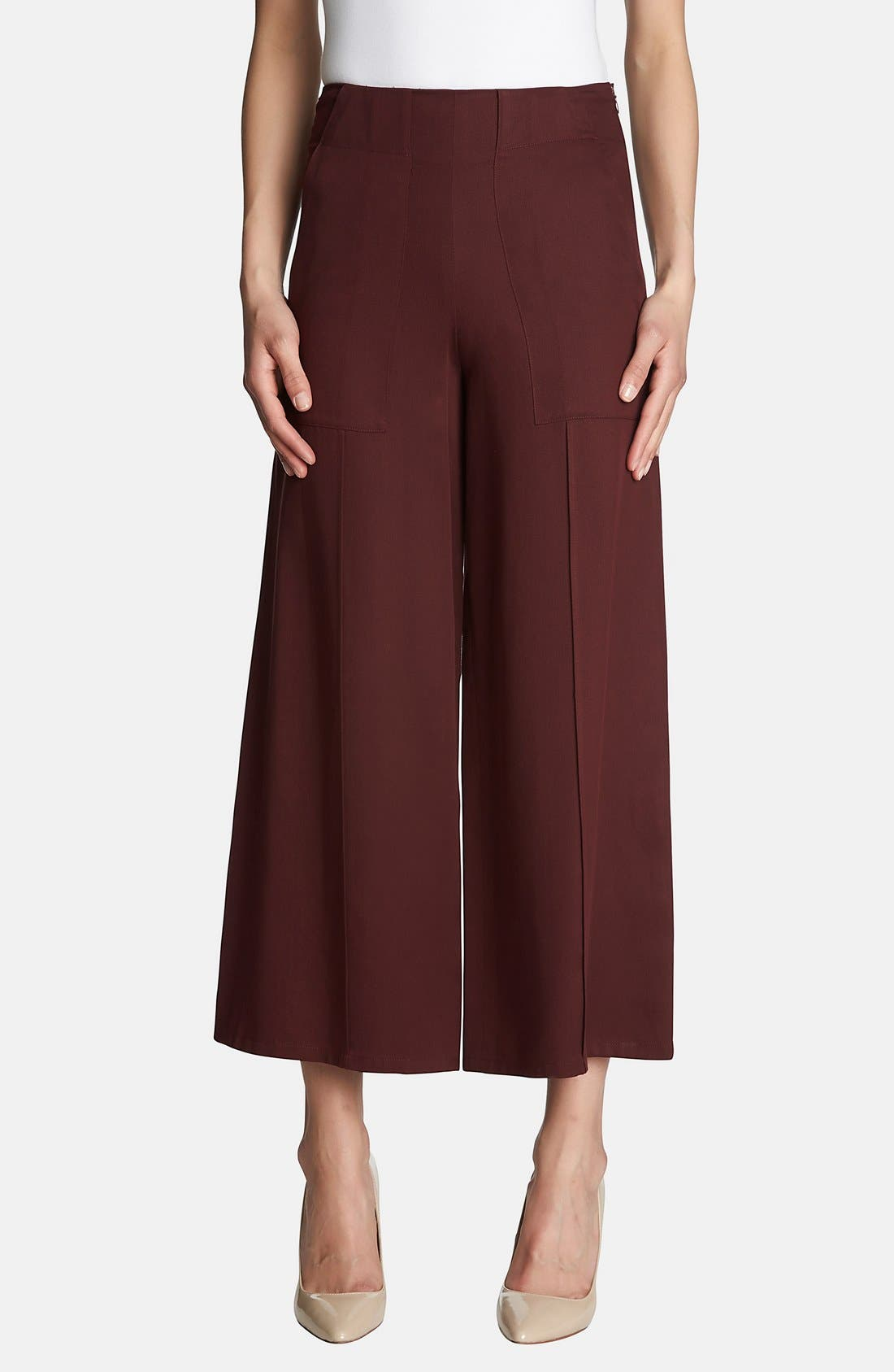 Alternate Image 1 Selected - 1.STATE High Waist Culottes