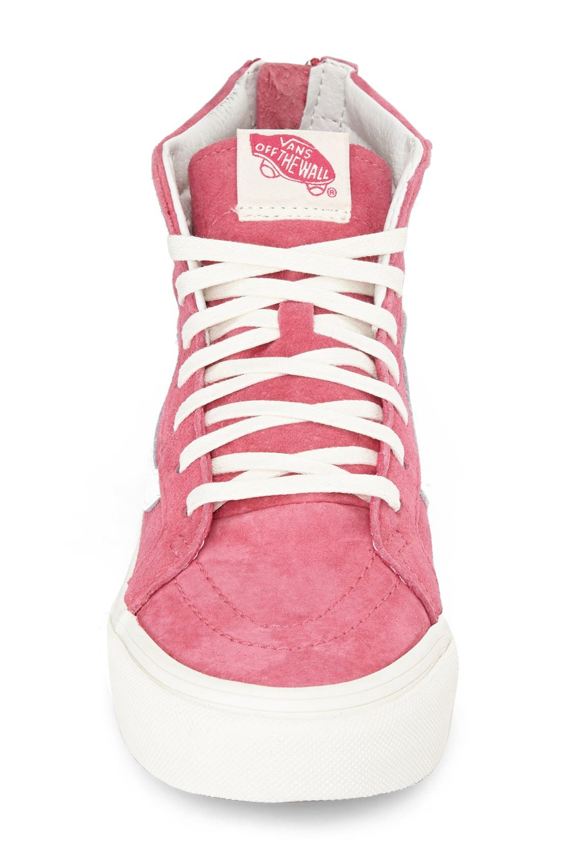 Alternate Image 3  - Vans 'Sk8-Hi Slim Zip' Sneaker (Women)