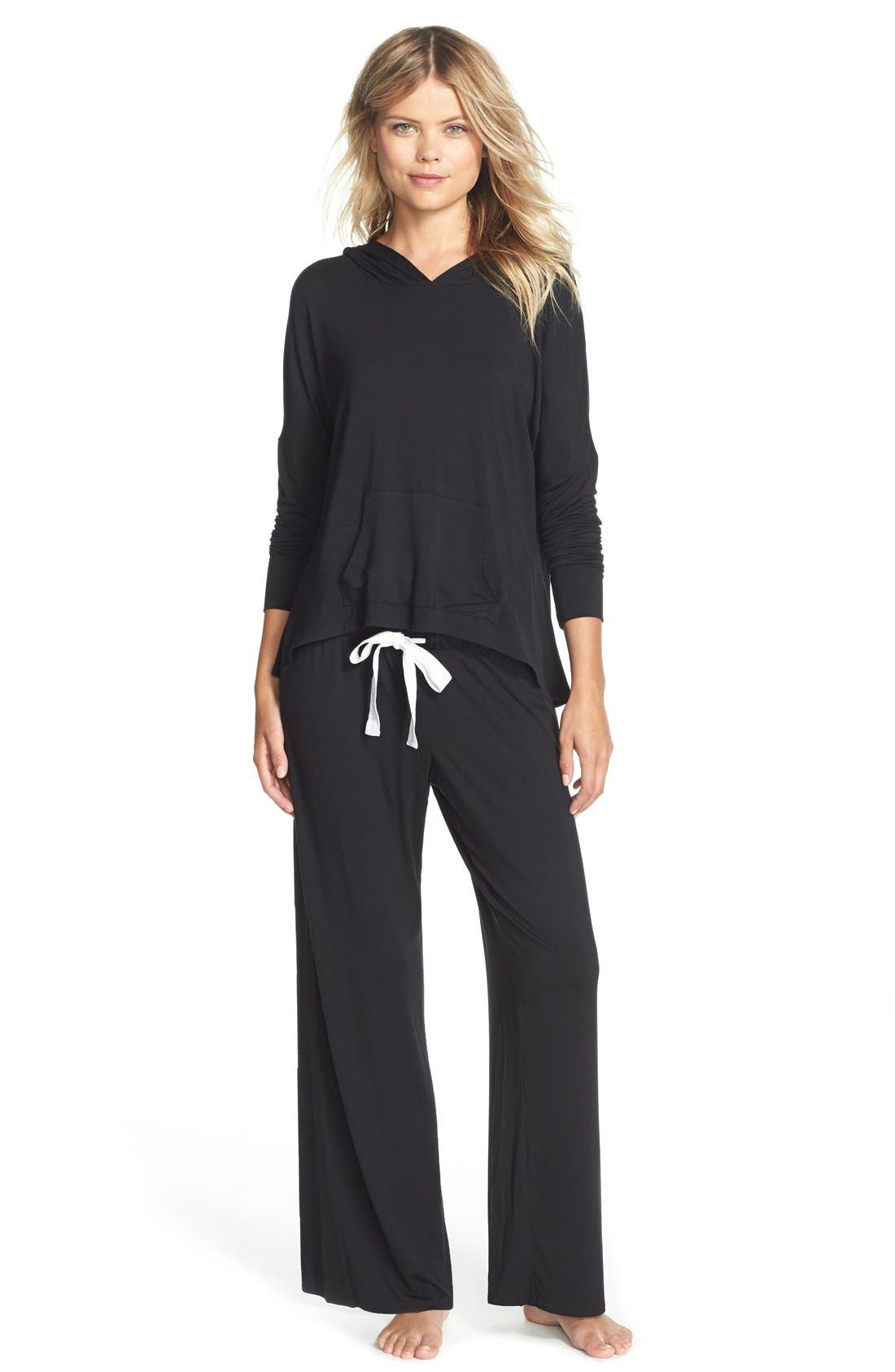 Alternate Image 3  - Fleur't With Me Stretch Lounge Pants