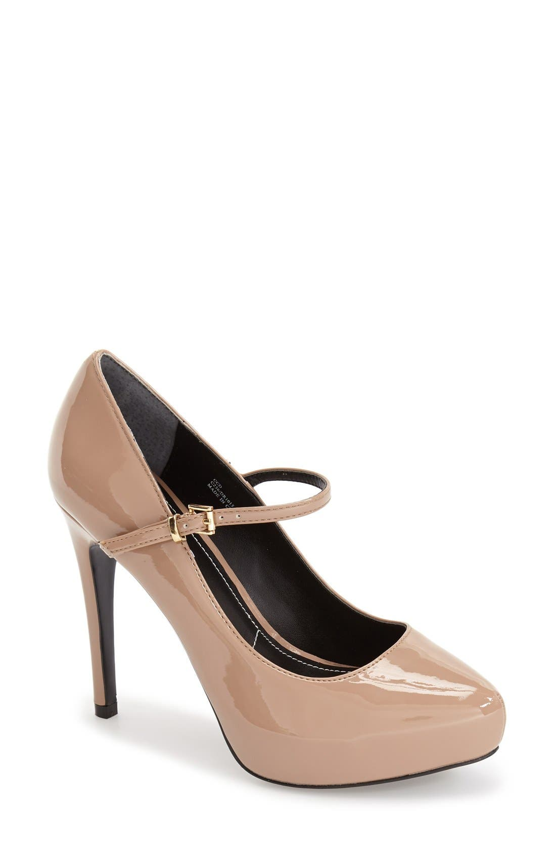 Alternate Image 1 Selected - Charles by Charles David 'Faye' Mary Jane Platform Pump (Women)