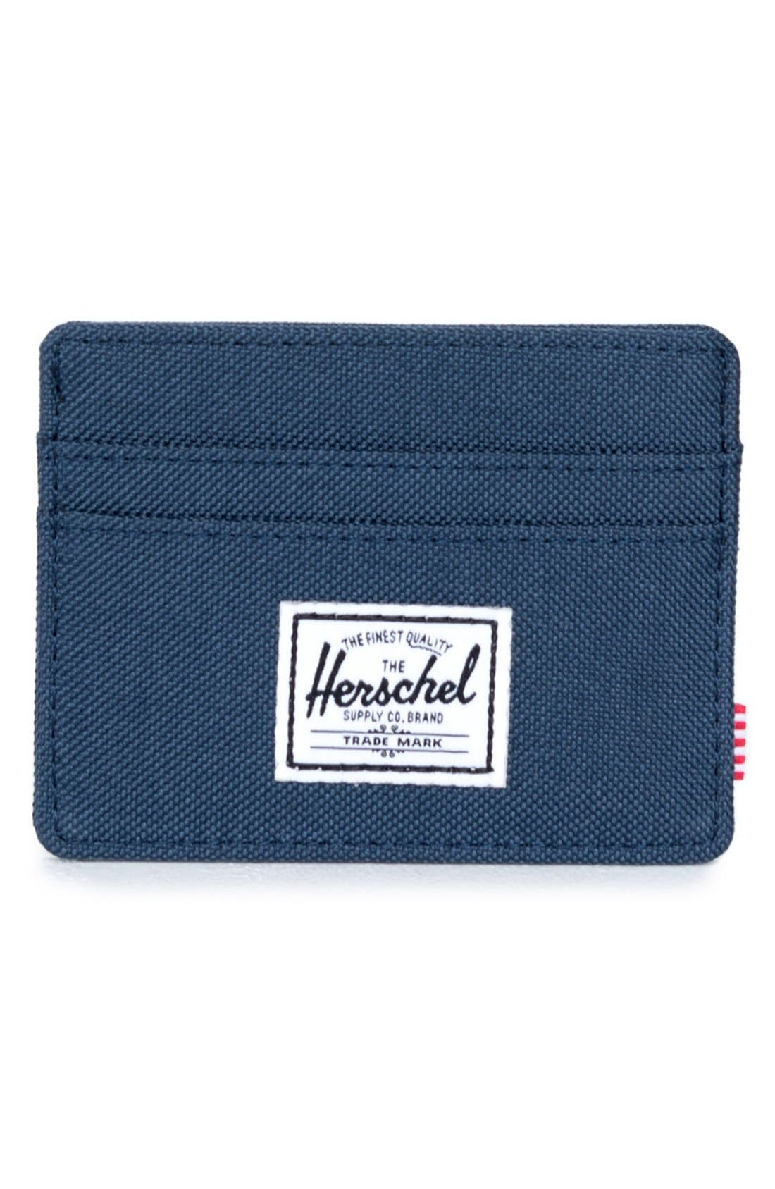 Alternate Image 1 Selected - Herschel Supply Co. 'Charlie' Card Holder