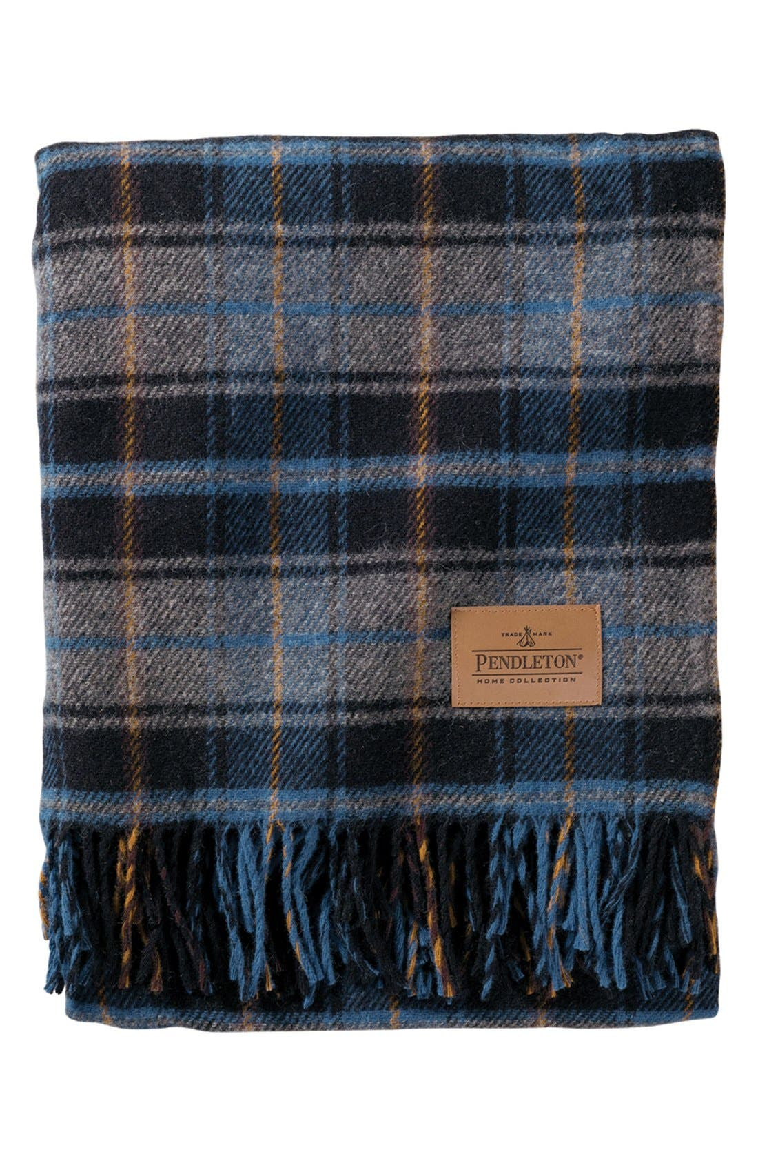 Alternate Image 1 Selected - Pendleton 'Motor Robe' Wool Stadium Blanket with Carrier