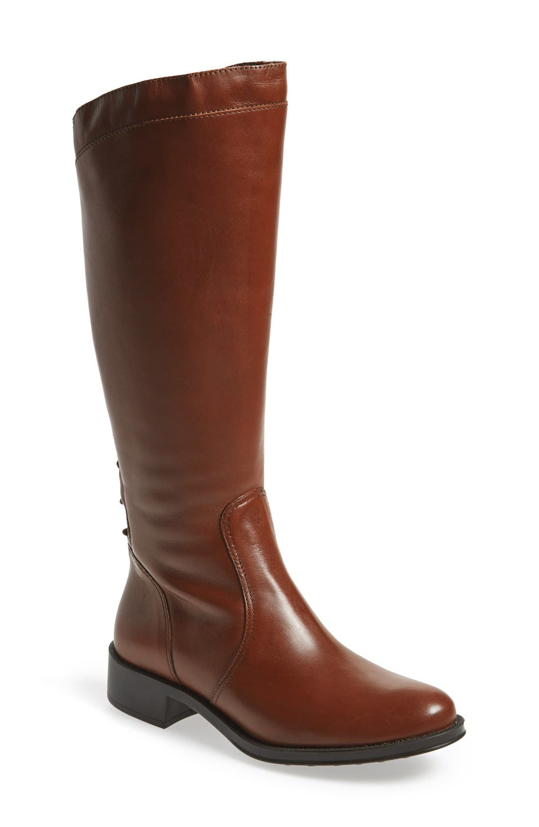 Alternate Image 1 Selected - André Assous 'Saddle Up' Waterproof Riding Boot (Women)