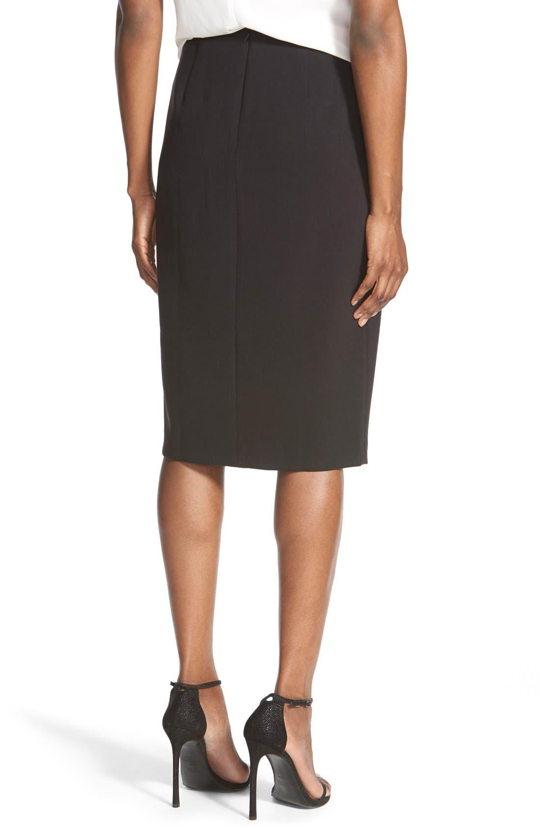 Alternate Image 3  - TrouvéWrap Front Pencil Skirt