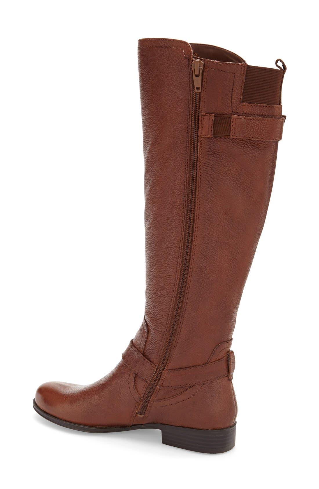 Alternate Image 2  - Naturalizer 'Joan' Riding Boot (Women) (Wide Calf)
