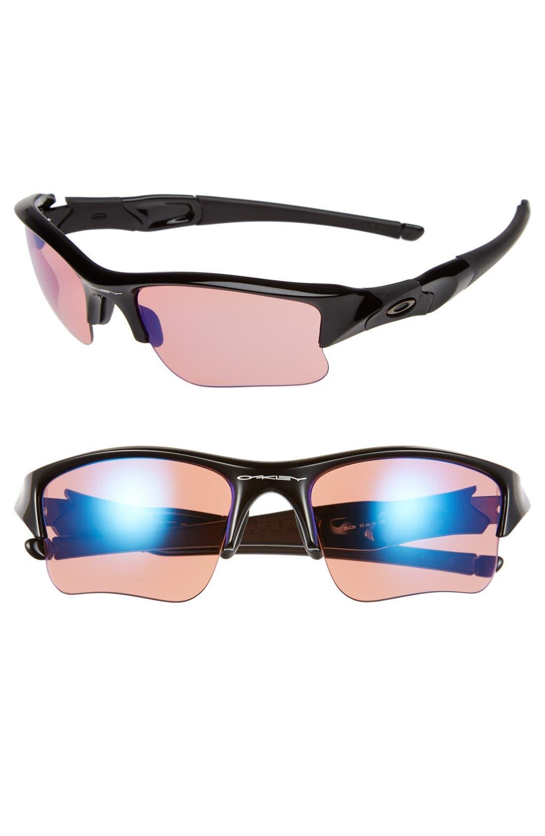 Alternate Image 1 Selected - Oakley 'Flak Jacket XLJ' 63mm Sunglasses