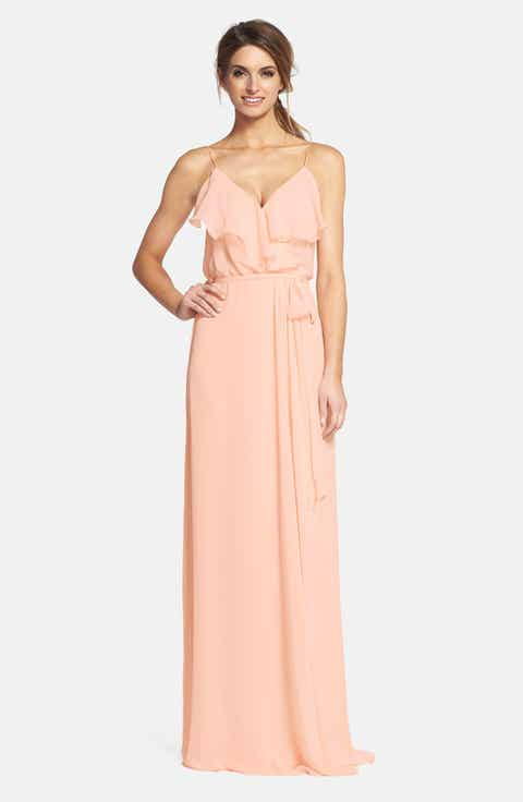 Amsale wedding dresses nordstrom flower girl dresses for Nordstrom wedding bridesmaid dresses