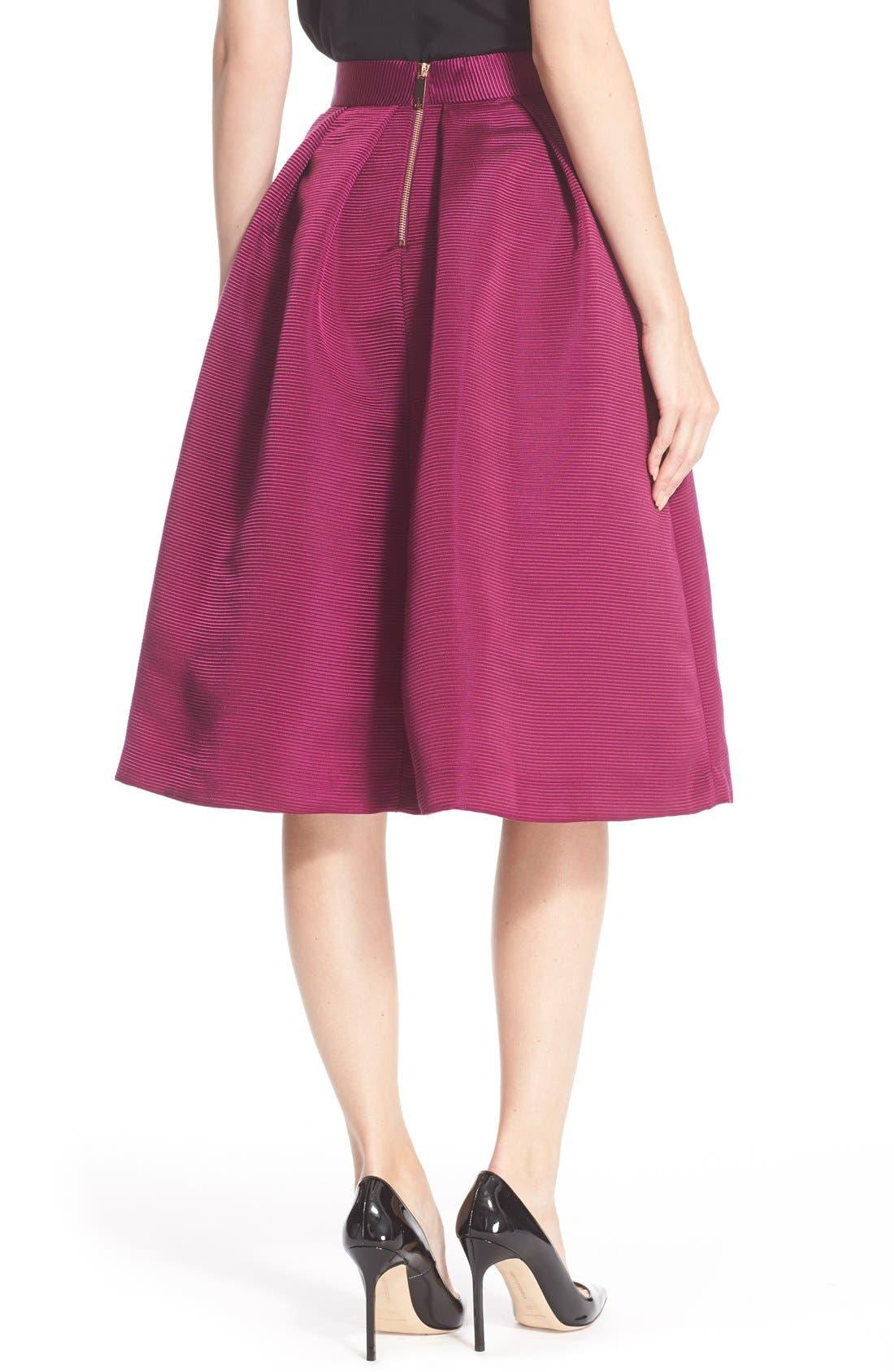 Alternate Image 2  - Ted Baker London High Waist Full Midi Skirt