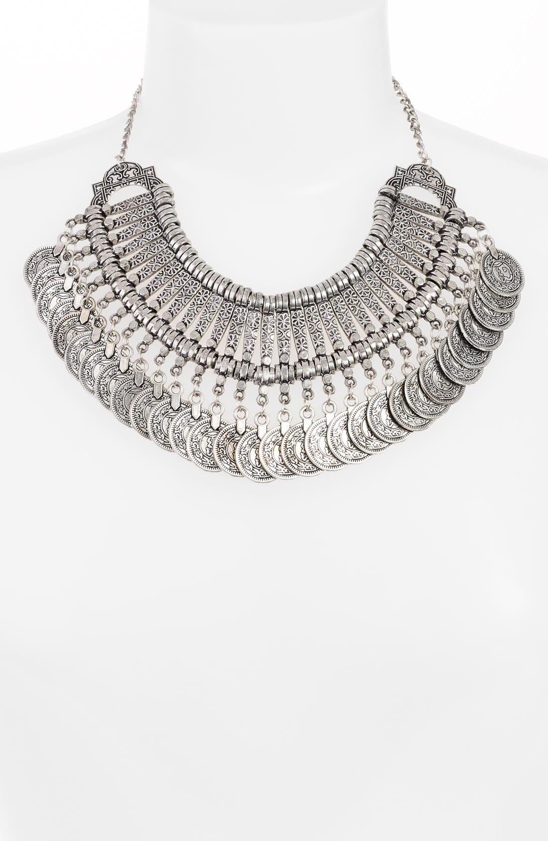 Alternate Image 2  - Raga 'Gypsy Coin' Bib Necklace