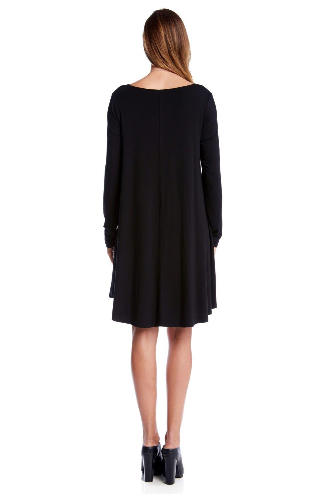 Alternate Image 2  - Karen Kane Jersey Swing Dress