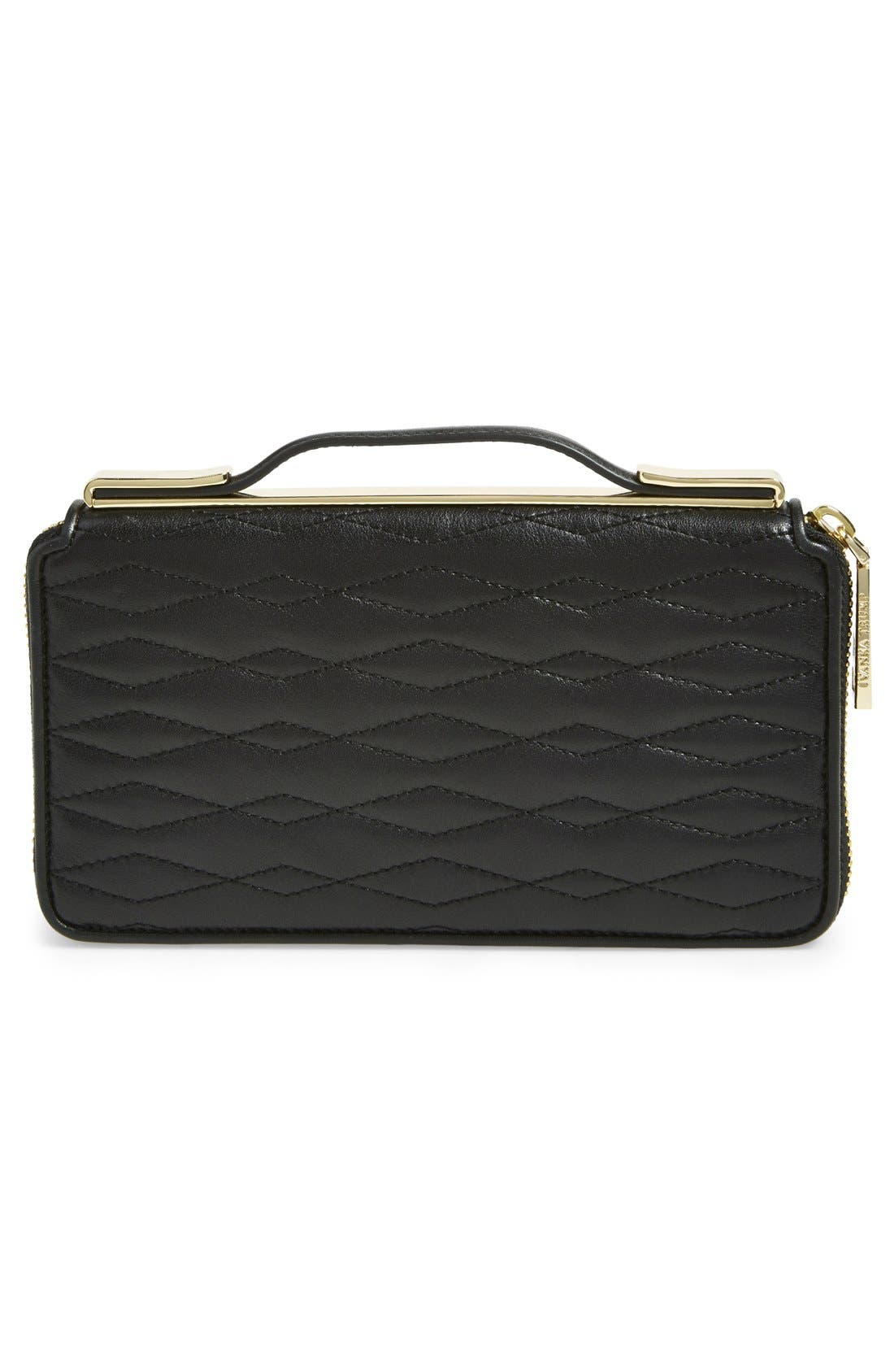Alternate Image 3  - Ivanka Trump 'Bedminster' Leather Clutch