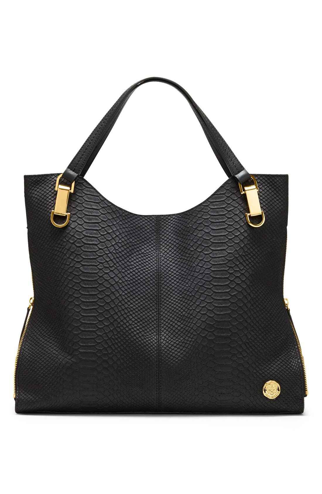 Alternate Image 2  - Vince Camuto 'Riley' Snake Embossed Leather Tote