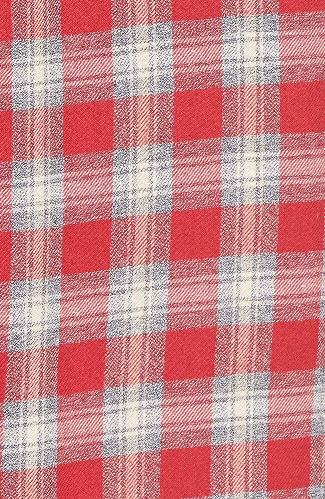 Alternate Image 4  - MadewellPlaid Shirtdress