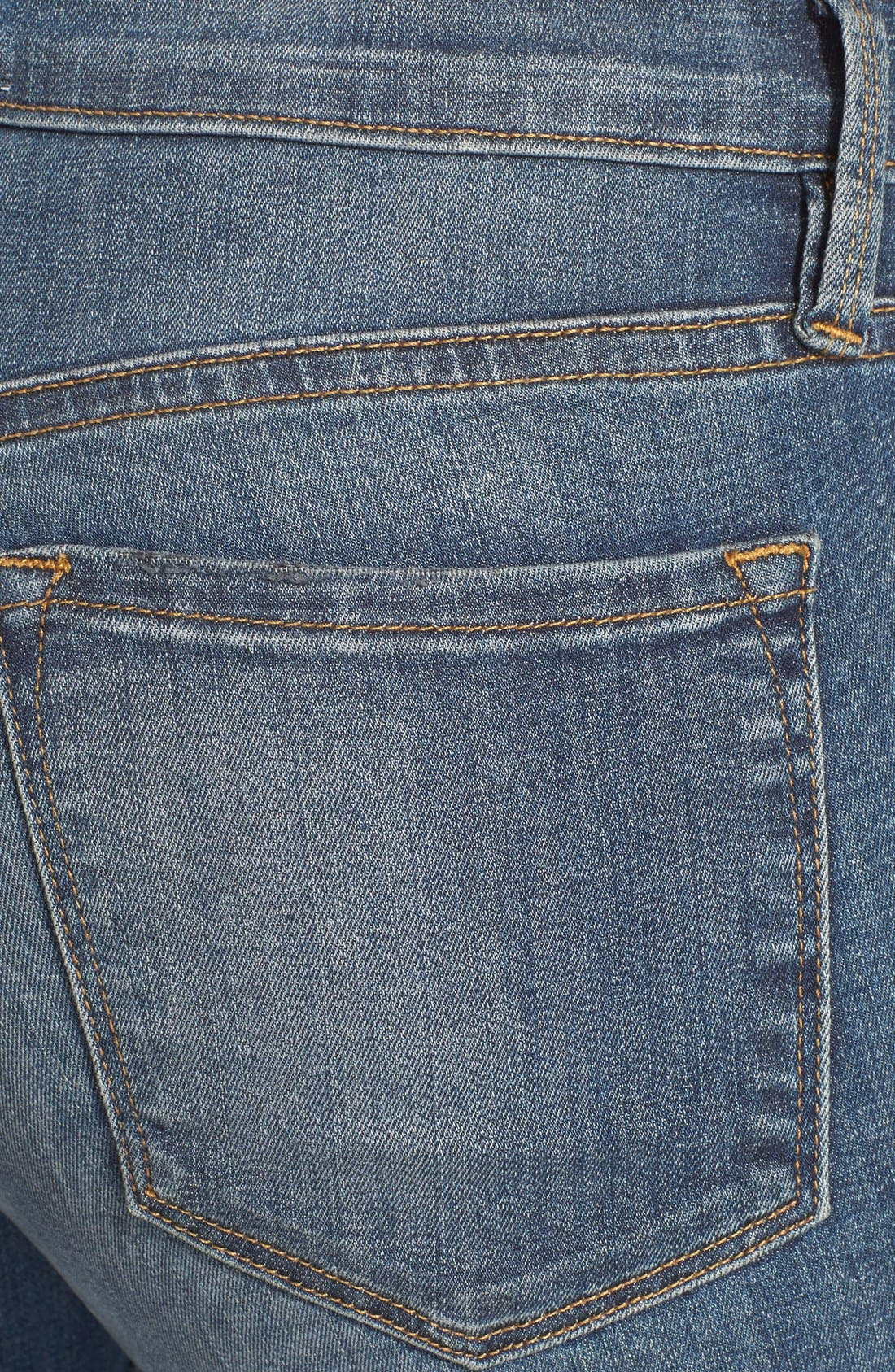 Alternate Image 3  - Frame Denim 'Le Skinny de Jeanne' Jeans