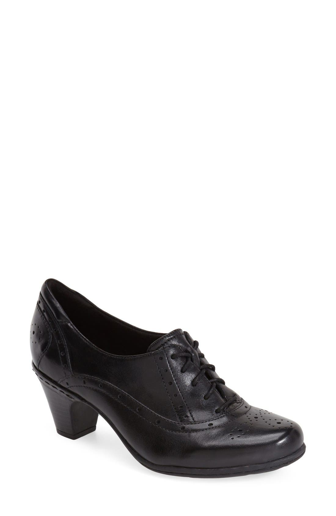 Alternate Image 1 Selected - Cobb Hill 'Shayla' Lace Up Pump (Women)