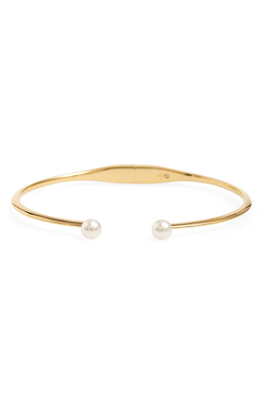 Alternate Image 1 Selected - Nadri Faux Pearl Station Cuff