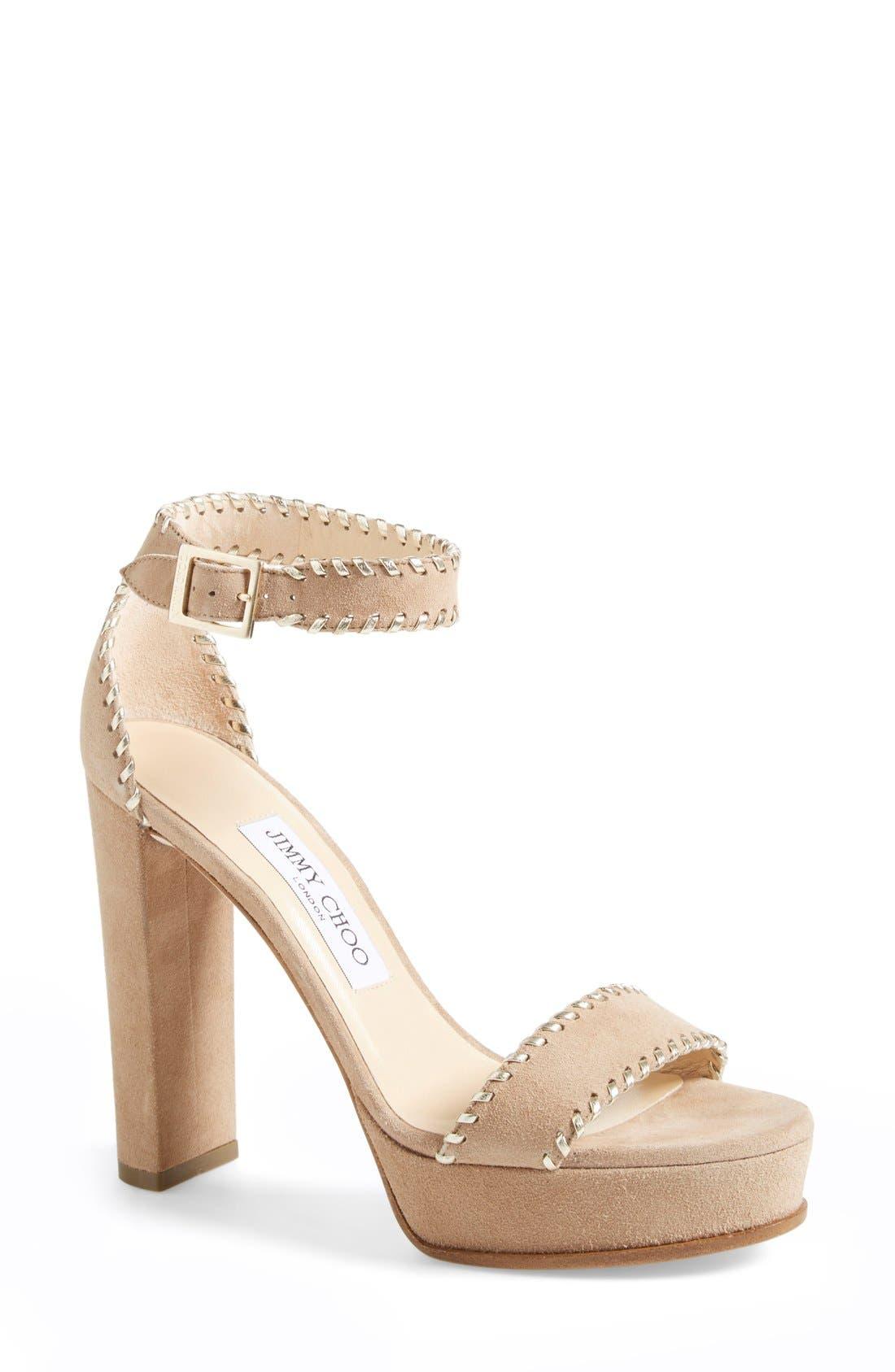 Alternate Image 1 Selected - Jimmy Choo 'Holly' Sandal (Women)