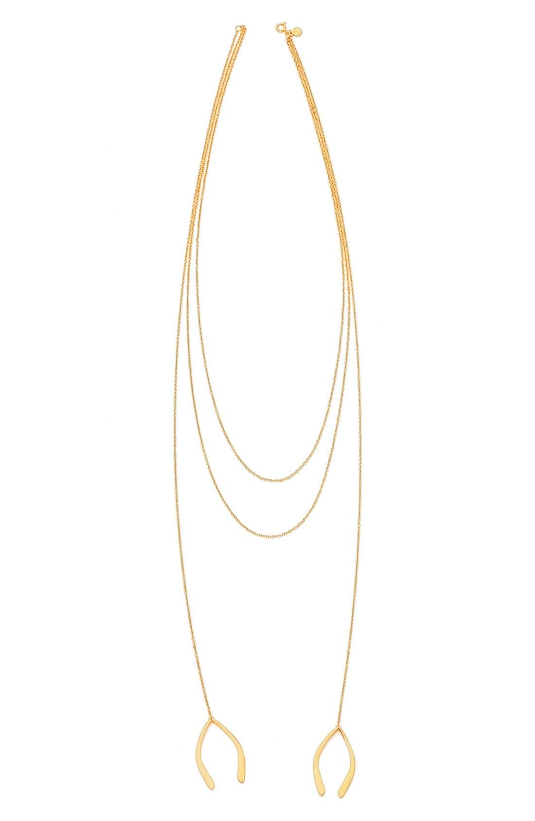 Alternate Image 2  - gorjana'Viola' Layered Pendant Necklace