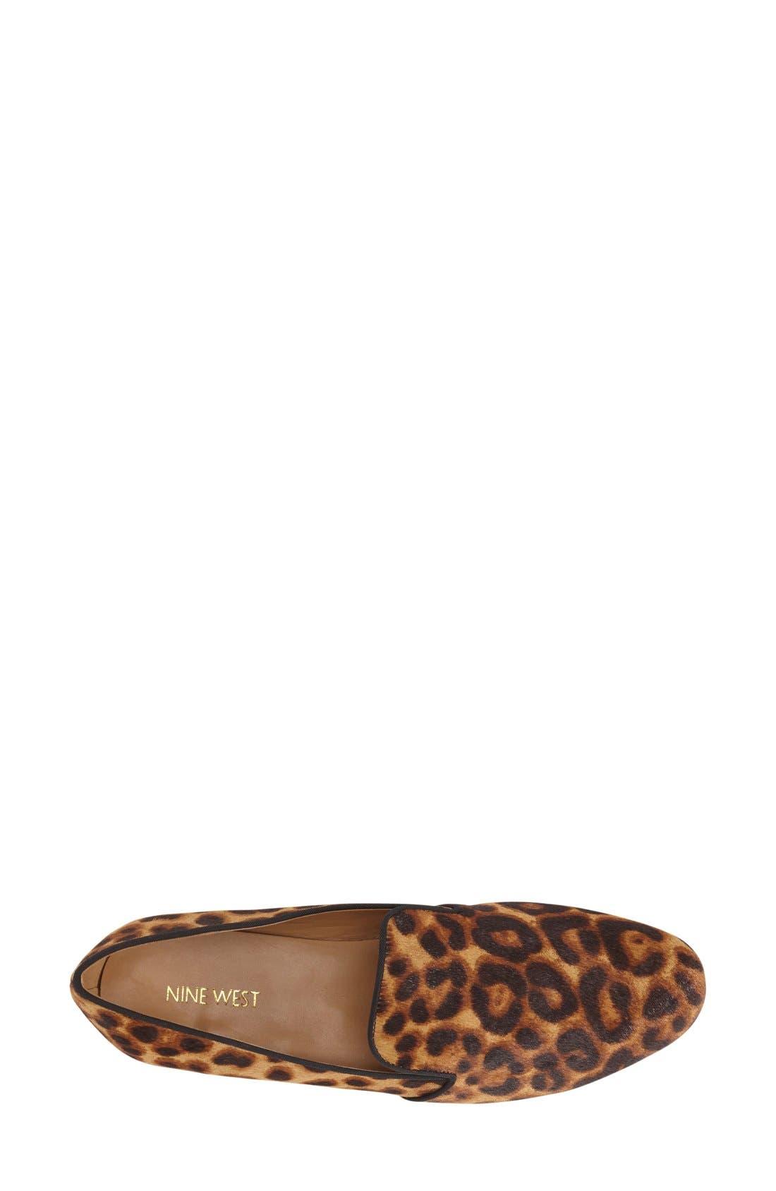 Alternate Image 3  - Nine West 'Clowd'RoundToe Loafer (Women)