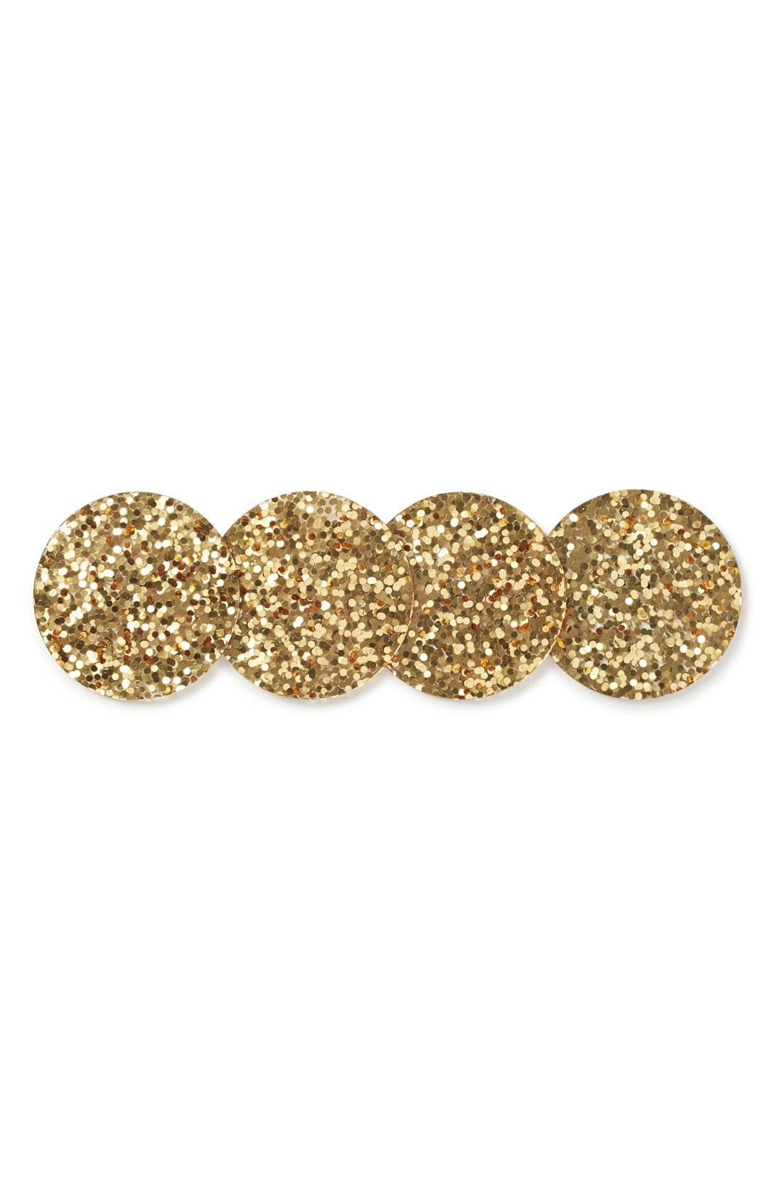 Alternate Image 1 Selected - kate spade new york 'happy hour glitter' coasters (Set of 4)