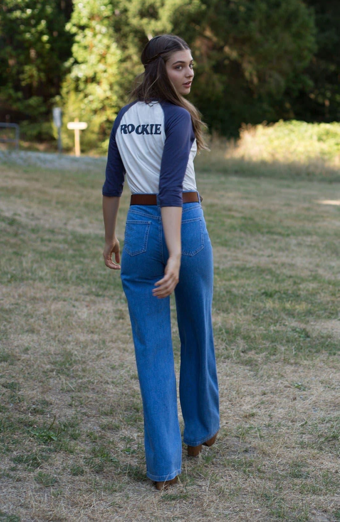 Alternate Image 4  - CAMP Collection 'Rookie' Baseball Tee (Women)