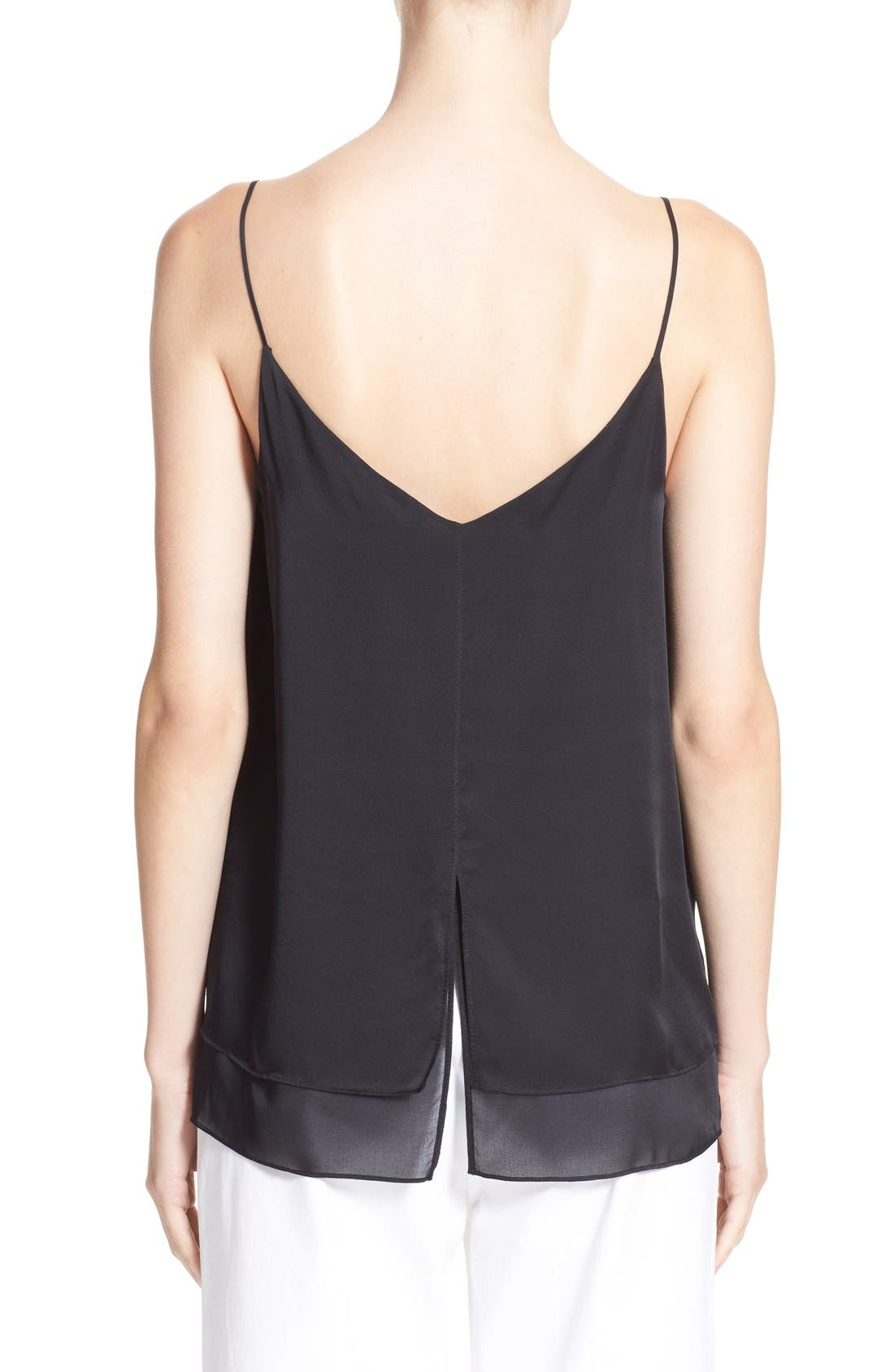 Alternate Image 2  - rag & bone 'Lora' Silk Camisole