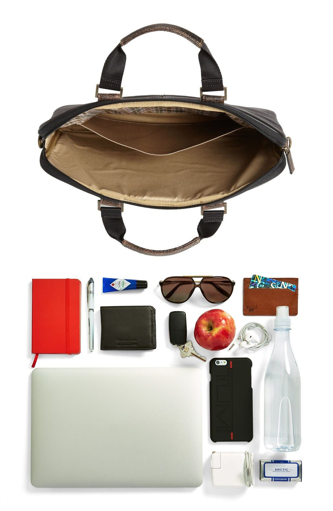 Alternate Image 2  - Boconi Leather Briefcase
