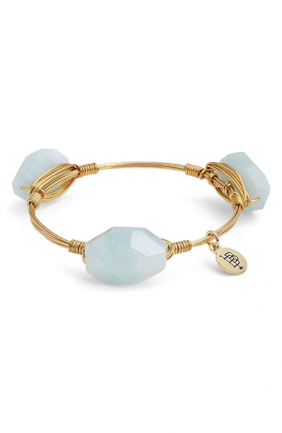 Alternate Image 2  - Bourbon and Boweties Small Stone Bracelet