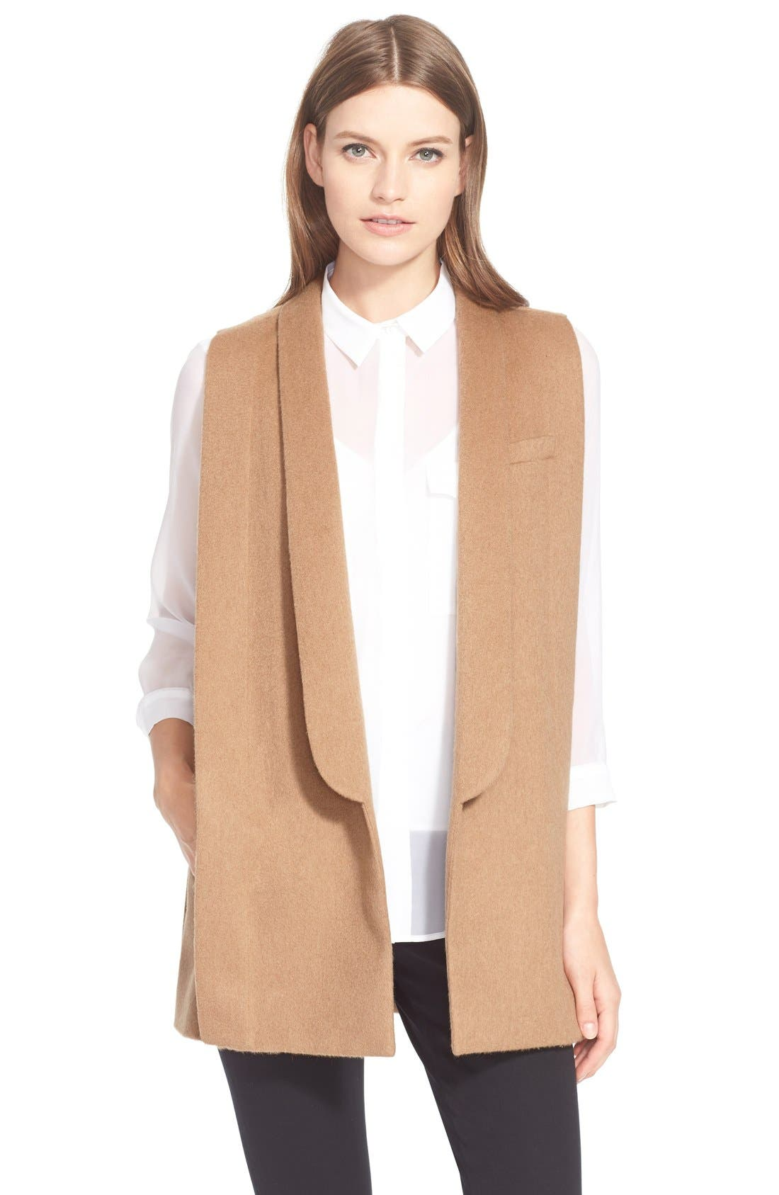 Main Image - AYR'The Copper Penguin' SleevelessShawl Collar Jacket