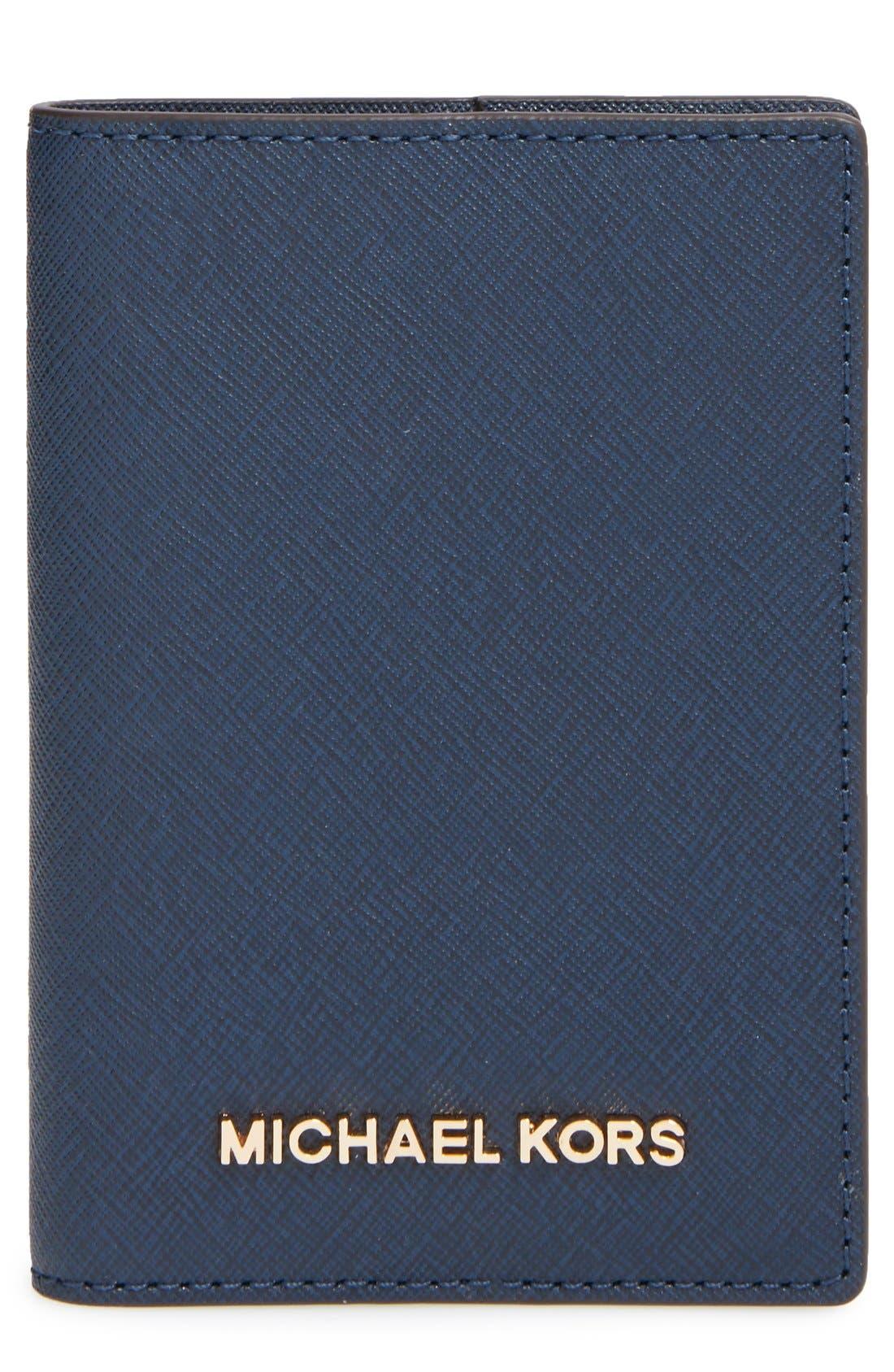 Main Image - MICHAEL Michael Kors'Jet Set' Passport Case