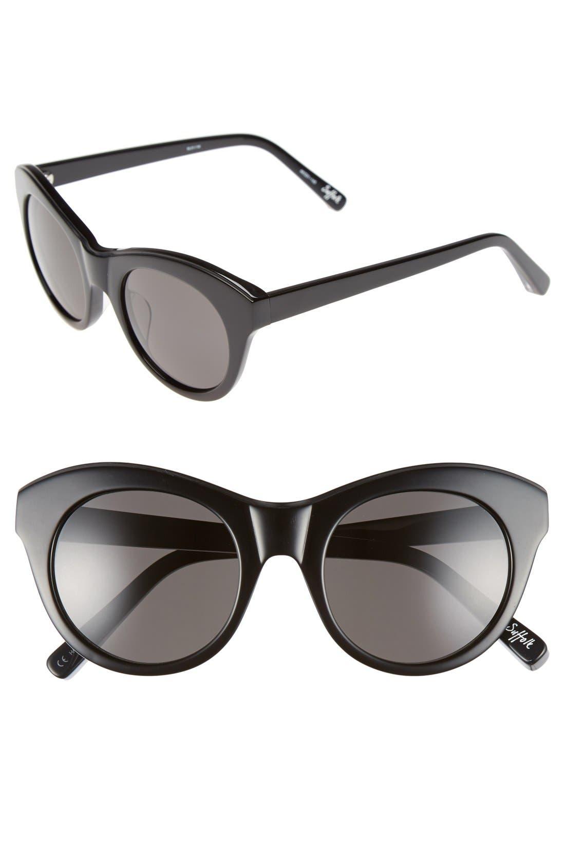Main Image - Elizabeth and James 'Suffolk' 49mm Cat Eye Sunglasses