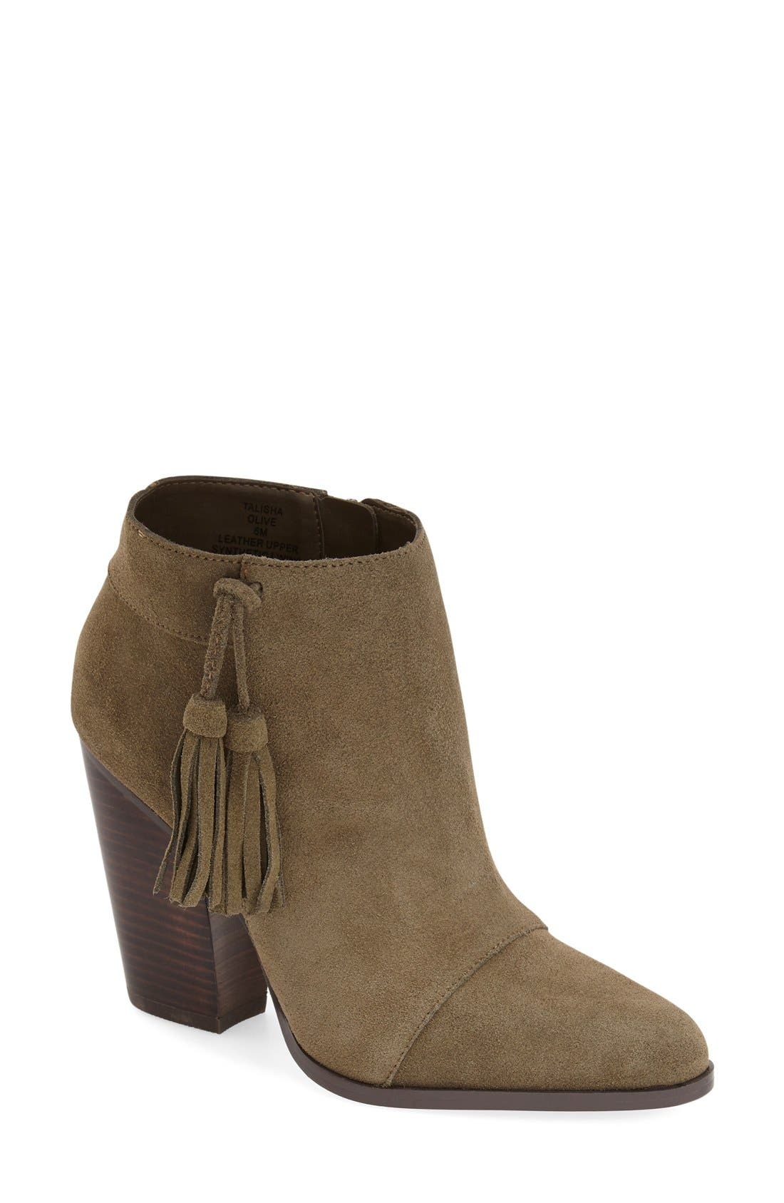 Main Image - Sole Society 'Talisha' Tassel Bootie (Women)