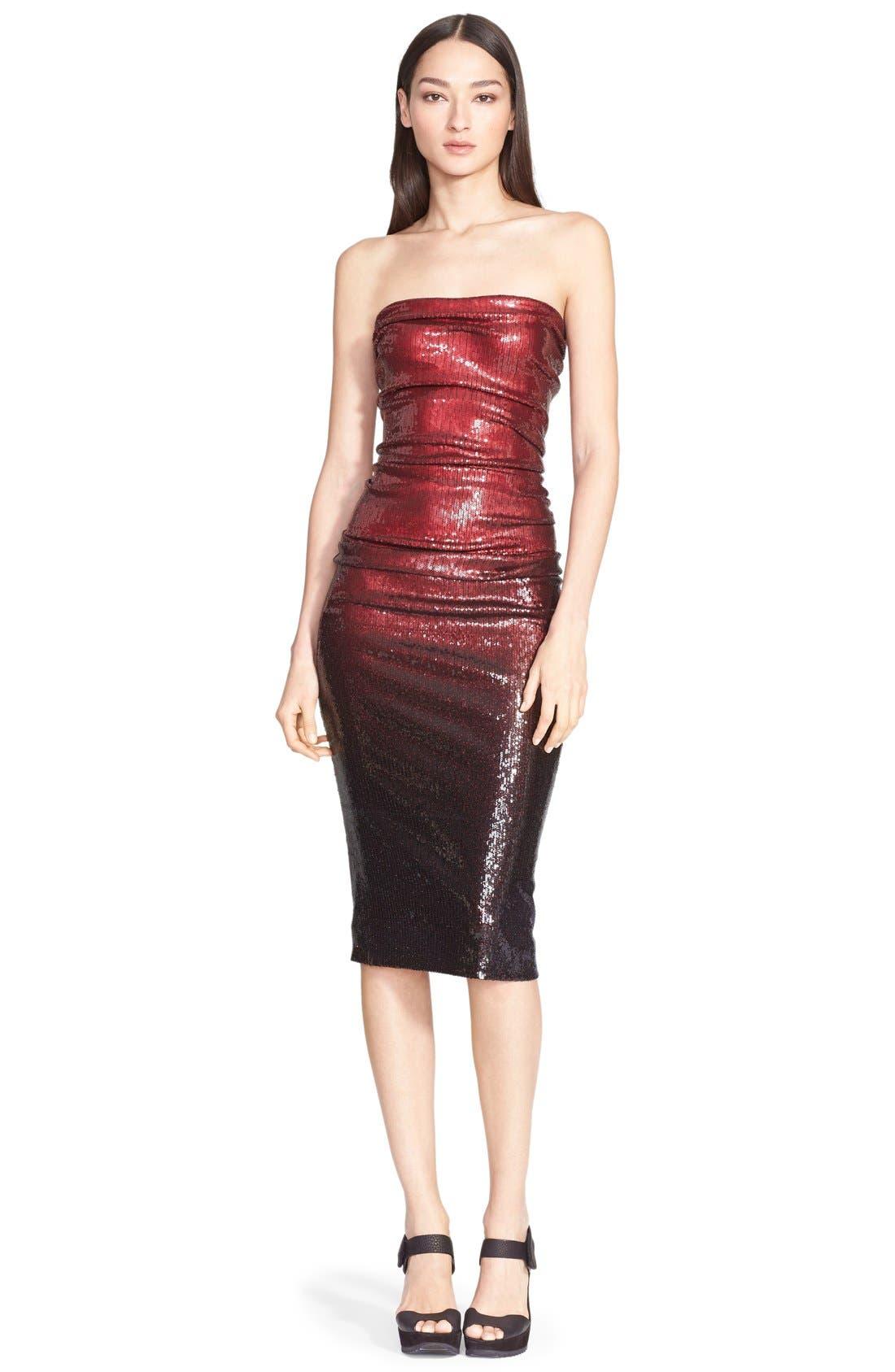 Main Image - Donna Karan New York Sequin Tube Dress