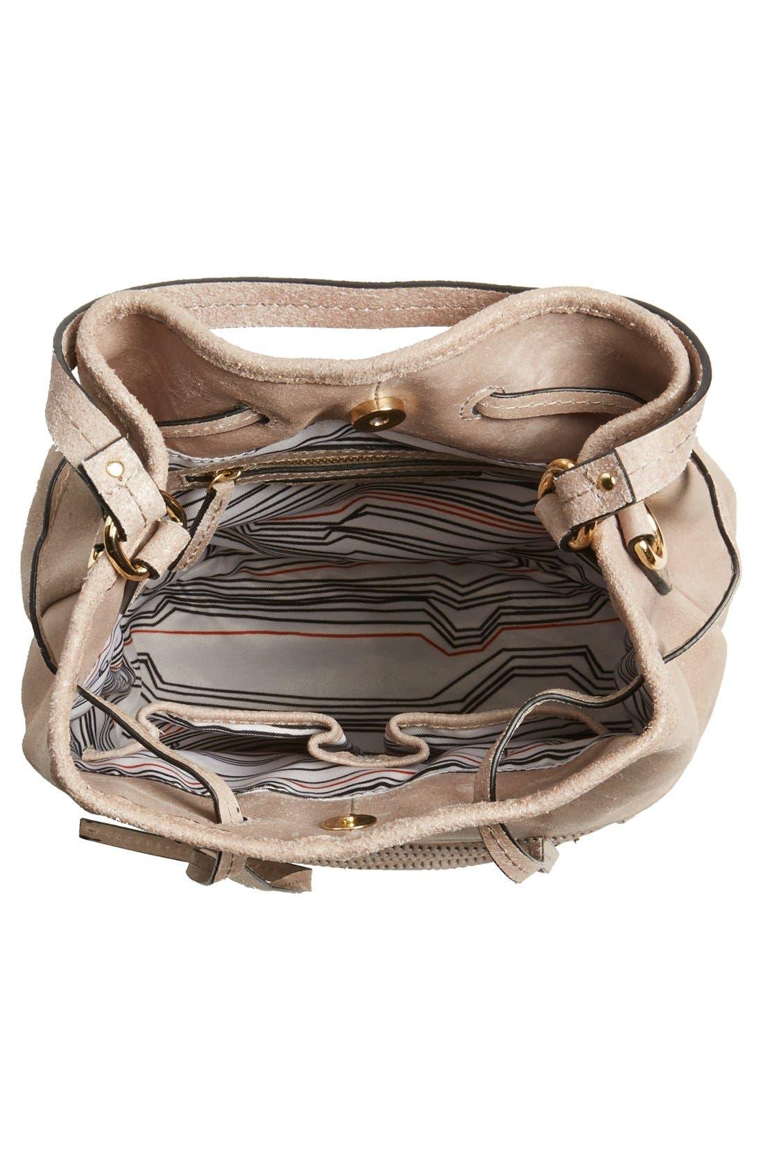 Alternate Image 3  - She + Lo 'Silver Lining' Drawstring Shoulder Bag