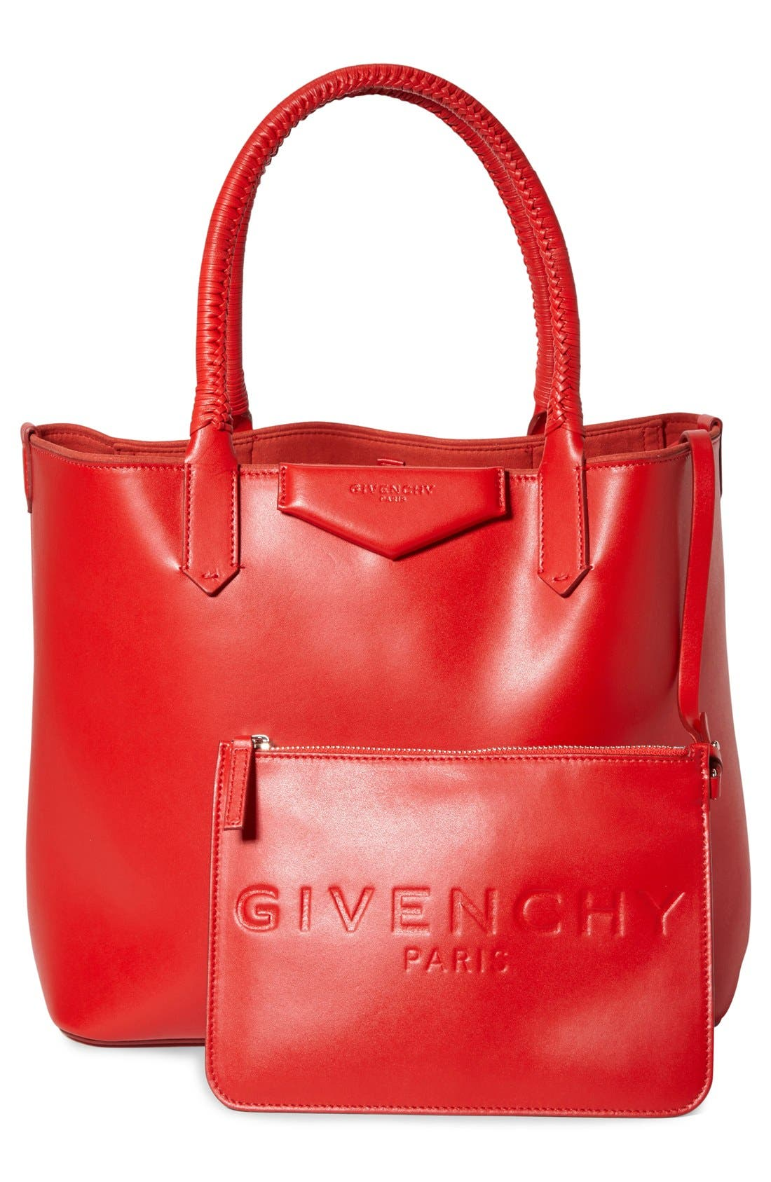 Alternate Image 1 Selected - Givenchy 'Small Antigona' Leather Shopper