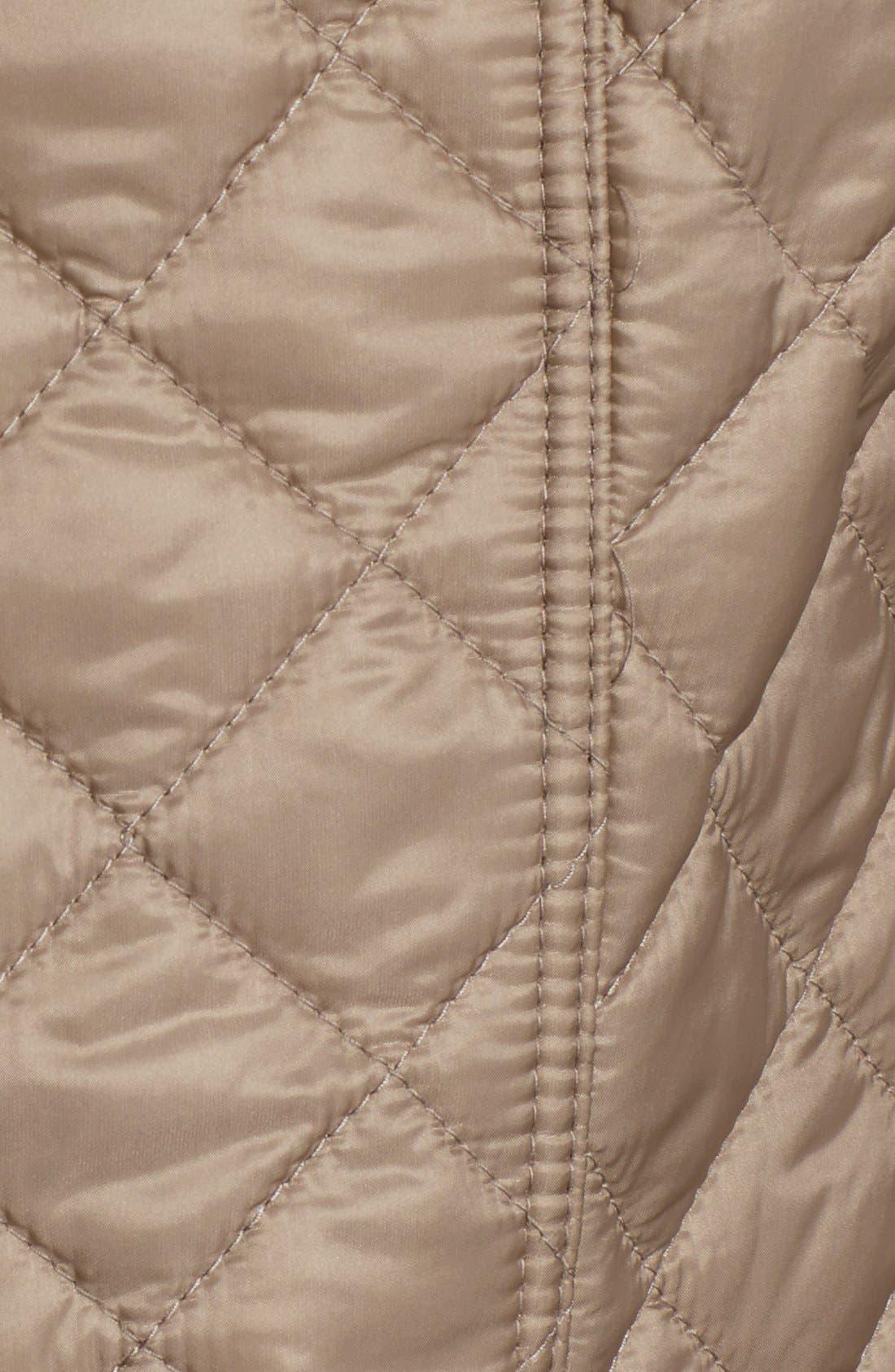 Alternate Image 3  - Burberry Brit 'Kencott' Patch Pocket Quilted Coat