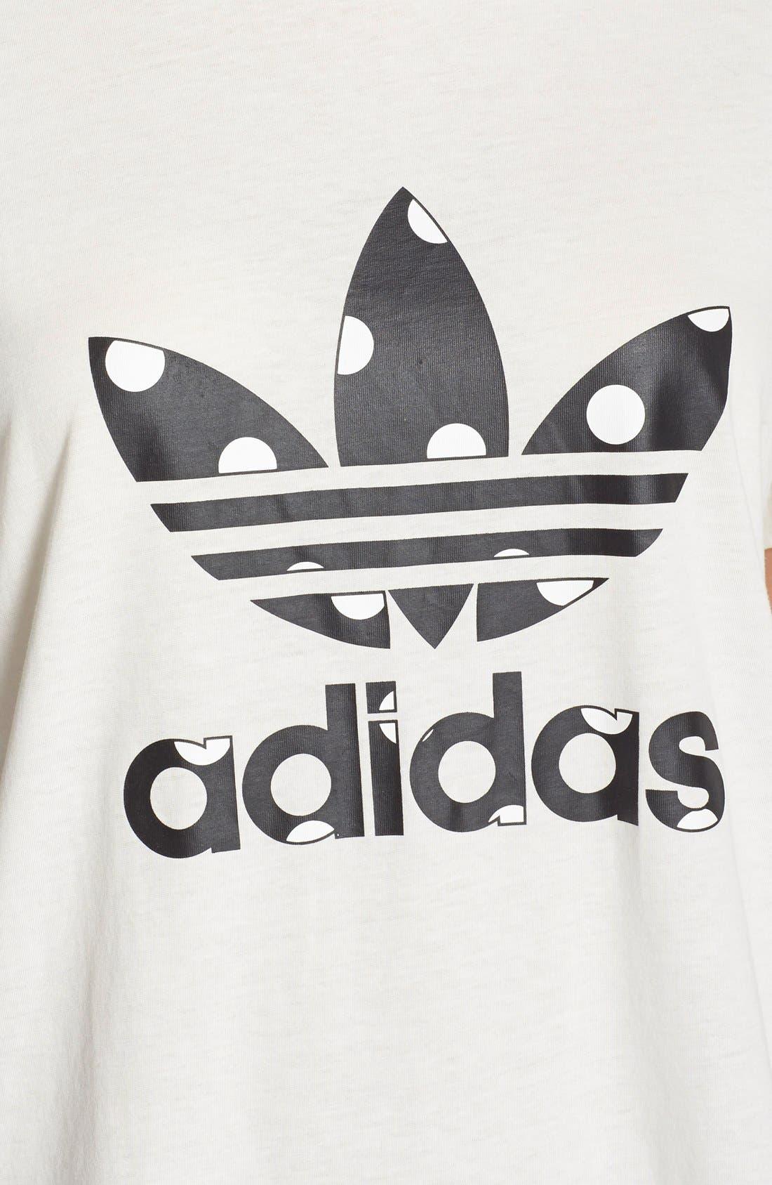 Alternate Image 5  - adidas Originals 'Big Logo Dots' Tee