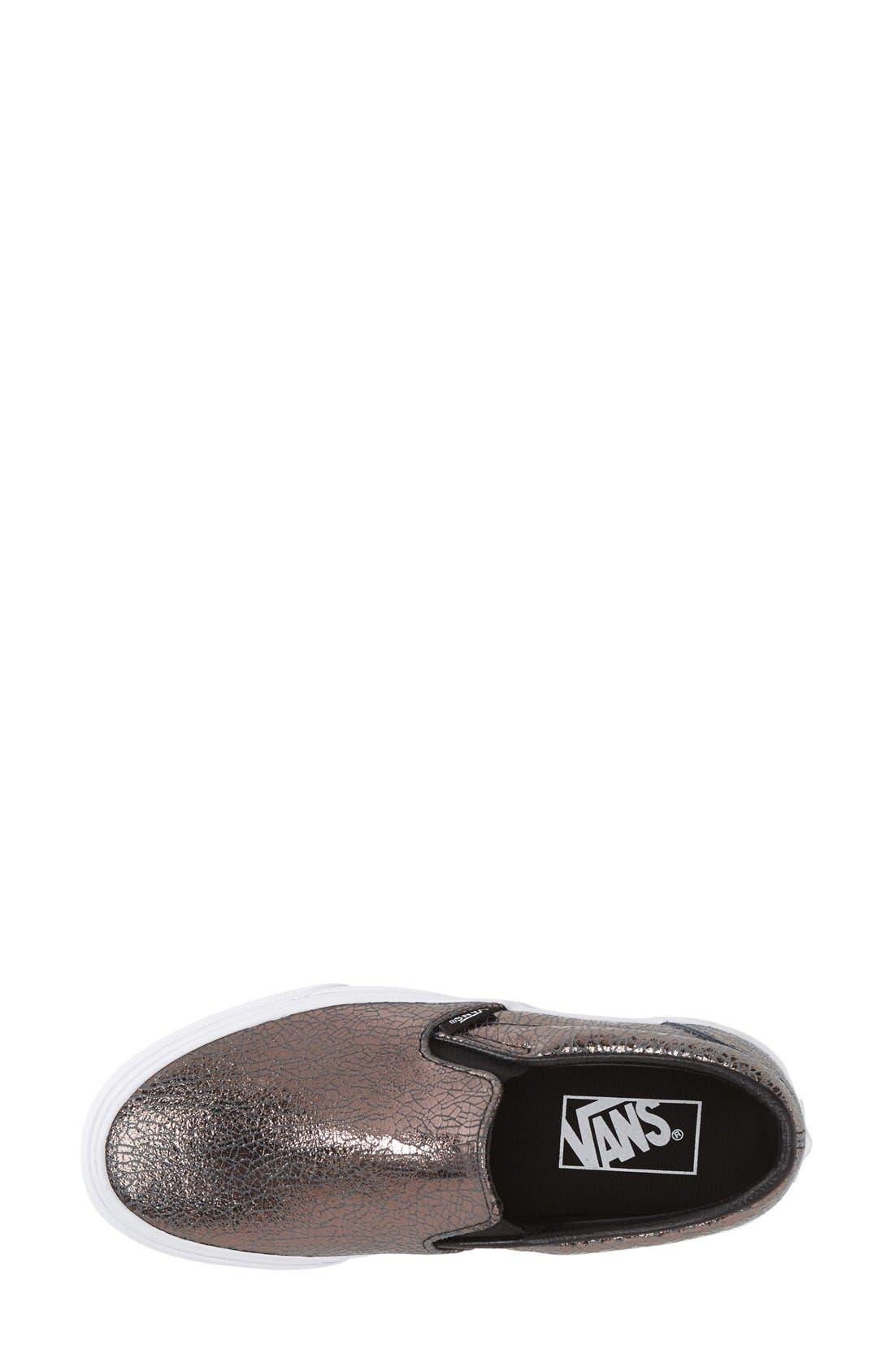 Alternate Image 3  - Vans 'Classic' Slip-On Sneaker (Women)