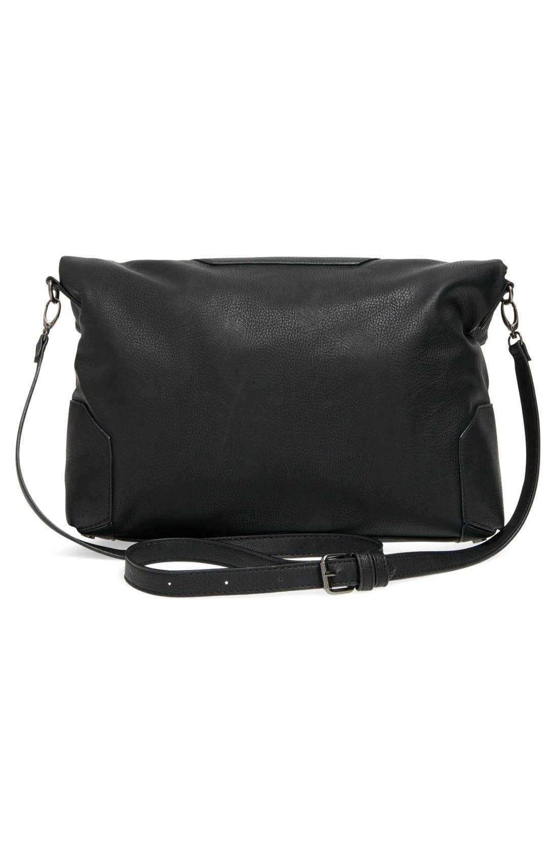 Alternate Image 3  - Sole Society 'Monze' Faux Leather Foldover Tote